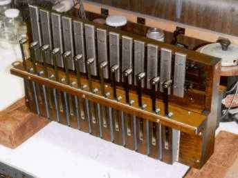 New chime (bell) action in the Wurlitzer style 33 Mandolin PianOrchestra.