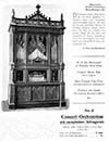 Welte Style 5 Concert Orchestrion of Gothic design from a German catalogue.
