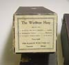 Image of the music roll box label for Wurlitzer Harp music roll #146.